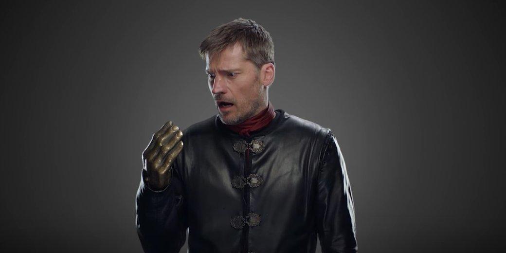 Впромо-фото5 серии 8 сезона «Игры престолов» отыскали еще один киноляп— теперь онсвязан сДжейме
