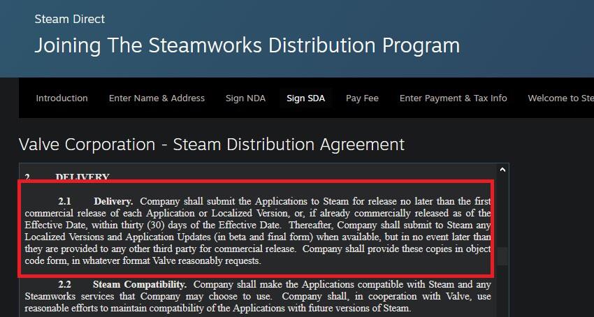 Всоглашении Steam нашли пункт, запрещающий уносить игры изSteam вEGS