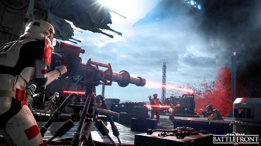 Финальная версия SW Battlefront стабильнее беты – 60fps почти всегда