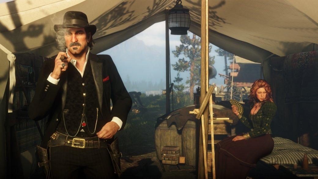 Гифка дня: месть безголового ковбоя вRed Dead Redemption2
