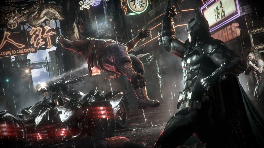 Rocksteady рассказала про Готэм и злодеев в Batman: Arkham Knight