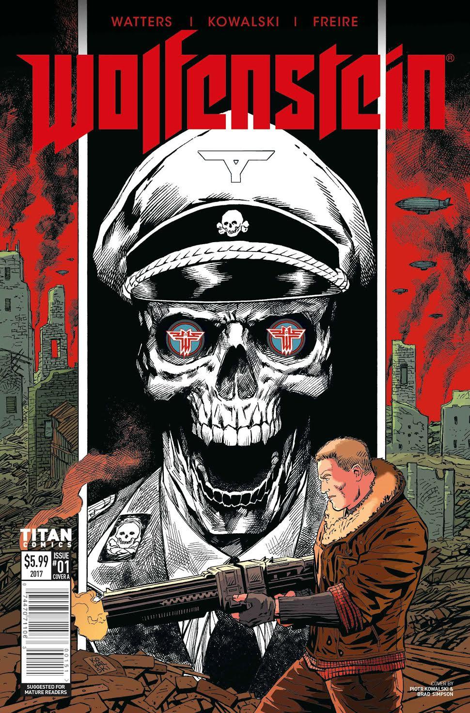 Би-Джей Бласковиц продолжит убивать нацистов настраницах комиксов