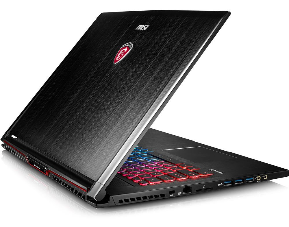 MSI представила пять новых игровых ноутбуков