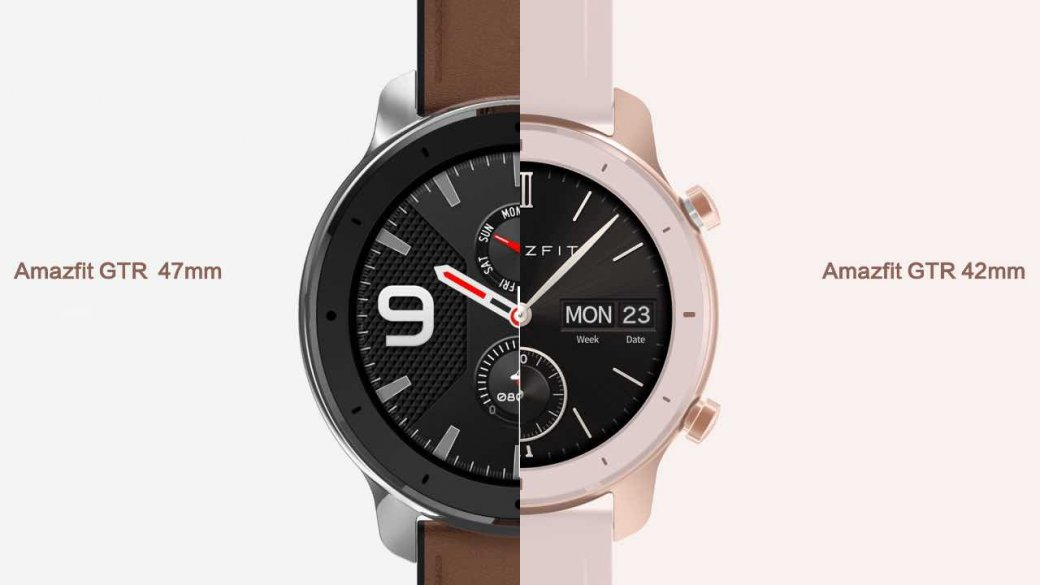 Представлены Huami Amazfit GTR: новые бюджетные смарт-часы отпроизводителя фитнес-трекеров Xiaomi