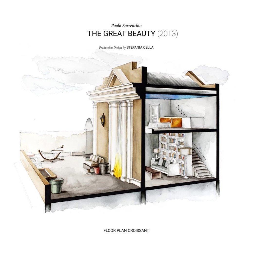 Instagram дня: как выглядит планировка домов изфильмов исериалов