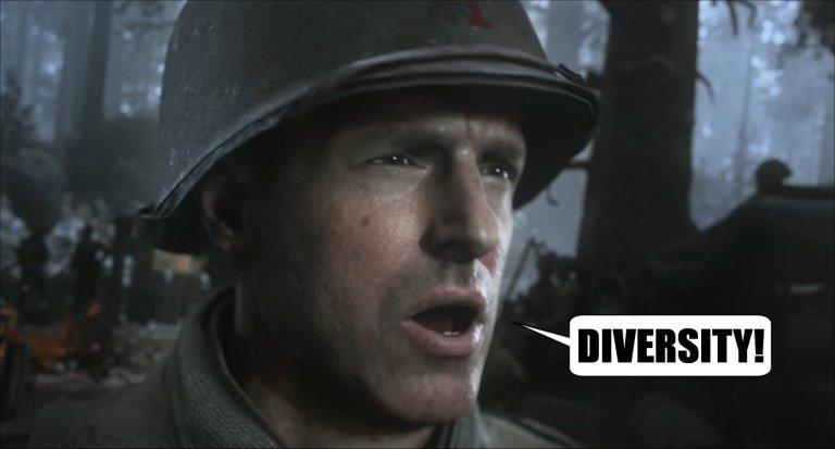 Адок дня: Polygon обвиняет врасизмеСall ofDuty: WWII