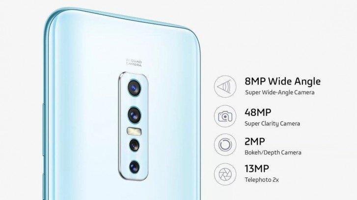 Представлен Vivo V17 Pro— смартфон нашесть камер, две изкоторых выдвижные