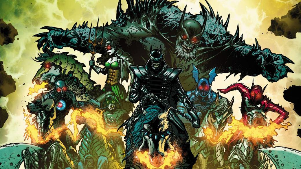 Не надо снов! Группа Lumen запишет саундтрек для серии комиксов Dark Knights: Metal