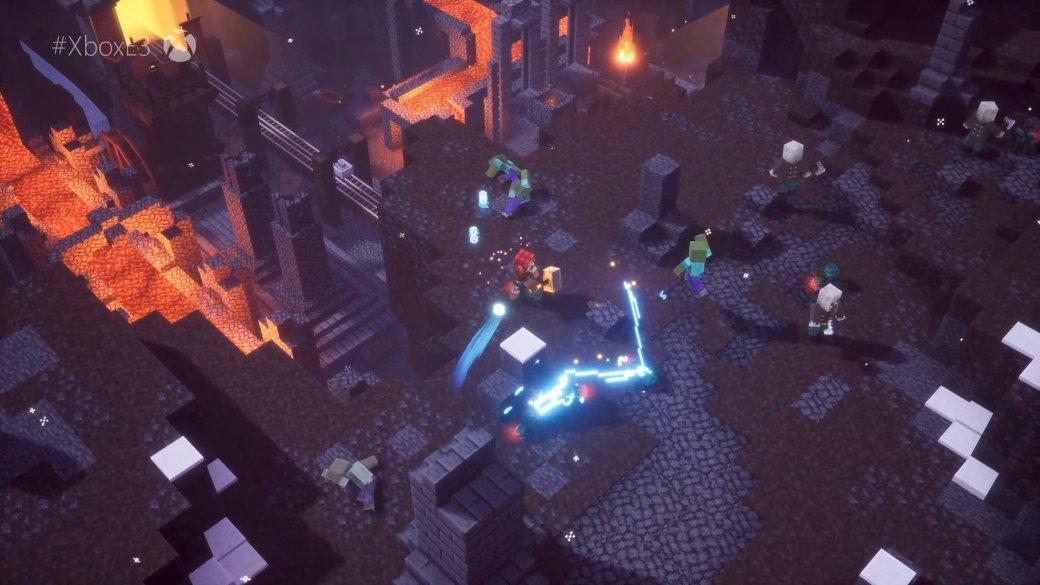 E3 2019: Microsoft анонсировала кооперативную Minecraft Dungeons