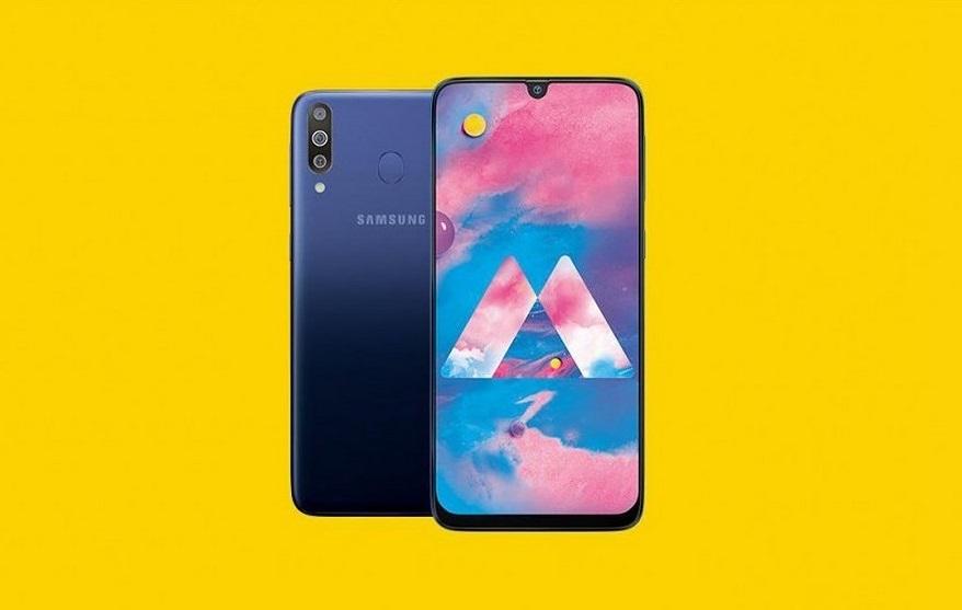 Samsung Galaxy M30 представили официально: Super AMOLED-экран, 6ГБ ОЗУ ицена от$210