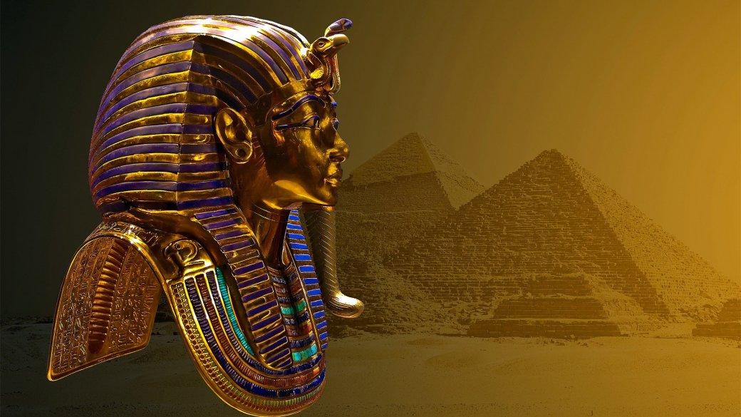 Во время чистки у маски Тутанхамона отвалилась борода. Чистильщик не дурак — приклеил ее назад