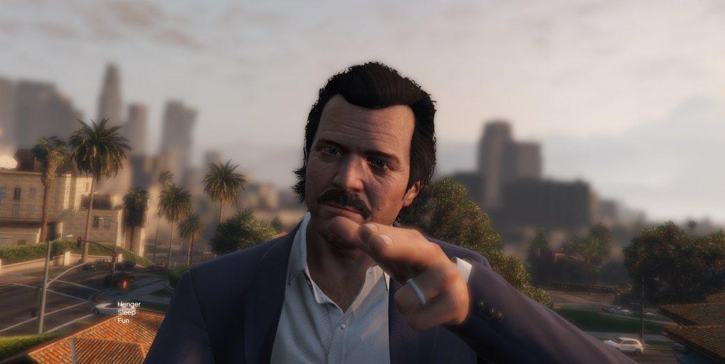 Гифка дня: коварный светофор вGrand Theft Auto5