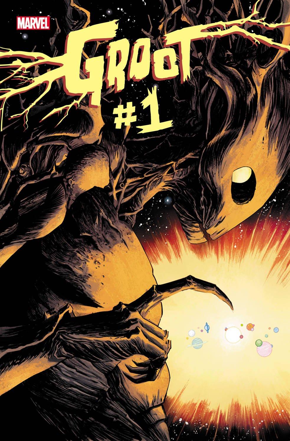 Комикс про Грута, деревянная Гвен Стейси и «муравьиные» обложки