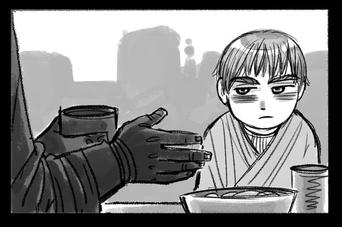 Художница комиксов по The Last of Us проиллюстрировала трагическую историю Энакина Скайуокера