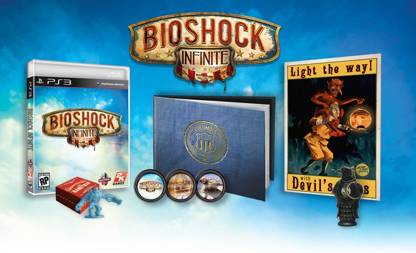 В коллекционное издание Bioshock Infinite войдет огромная статуэтка