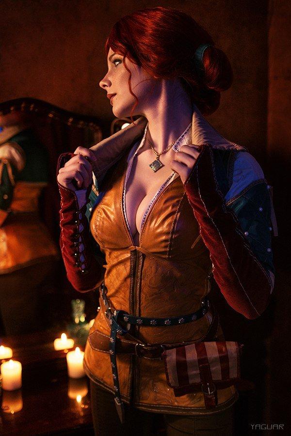 Косплей дня: прекрасные девушки из«Ведьмака». Кого выберетевы?