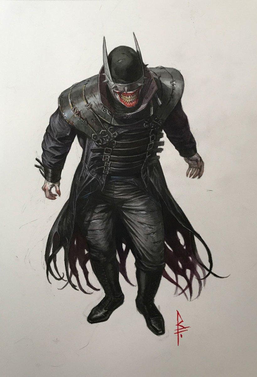 Первый взгляд наБэтмена-Джокера иего злых Робинов