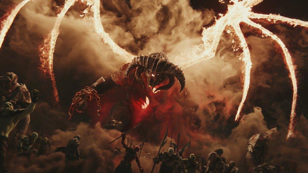 Middle-earth: Shadow ofWar— хорошая ивомногом новаторская игра. Поэтому заранее предупреждаю: янебуду снижать ейоценку заотхождения отзаложенных Толкином канонов (фанфики так несудят) илутбоксы (оних мыпоговорим в отдельной колонке). Вся еесуть по-прежнему всистеме Nemesis, которая научилась генерировать совсем уждраматичные истории, хоть игрубыми мазками. Разработчики, кстати, научились тоже— продолжение Shadow ofMordor стало эпичным настолько, что подуху уместно смотрится врамках киновселенной «Властелина Колец». Номногие проблемы оригинала всеже остались наместе.
