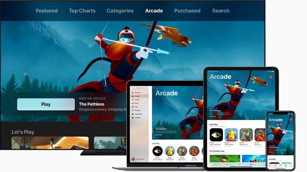 Игры, шоу иподписки— что показала Apple напрезентации