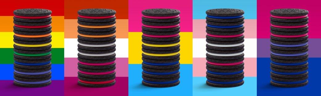 Компанія Oreo випустила різнокольорові печеньки на підтримку ЛГБТ