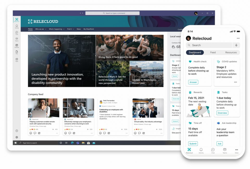 Microsoft запустила платформу Viva для общения и организации сотрудников