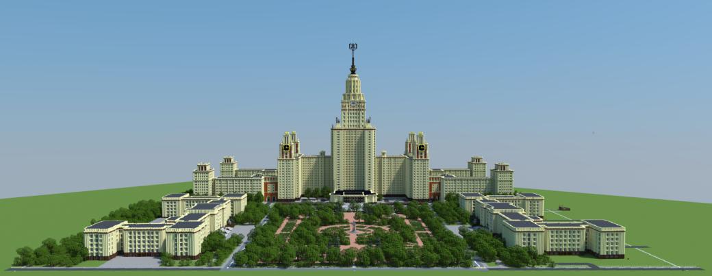 Галерея: достопримечательности России, воссозданные вMinecraft