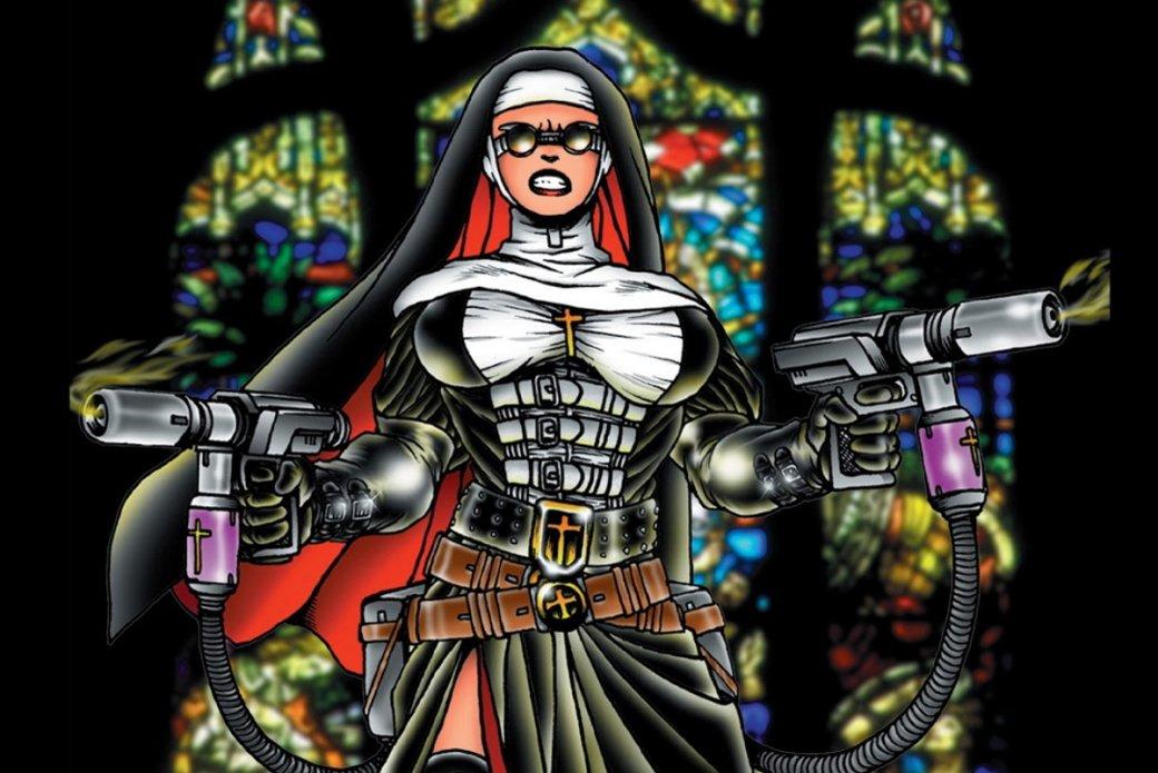 2июля напотоковом сервисе Netflix стартует сериал «Монахиня-воин» (Warrior Nun), основанный надовольно старой серии комиксов. Рассказываем, что изсебя представляет первоисточник.
