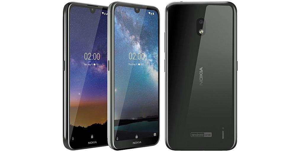 Nokia2.2: бюджетный смартфон с«чистым» Android показался напервом фото