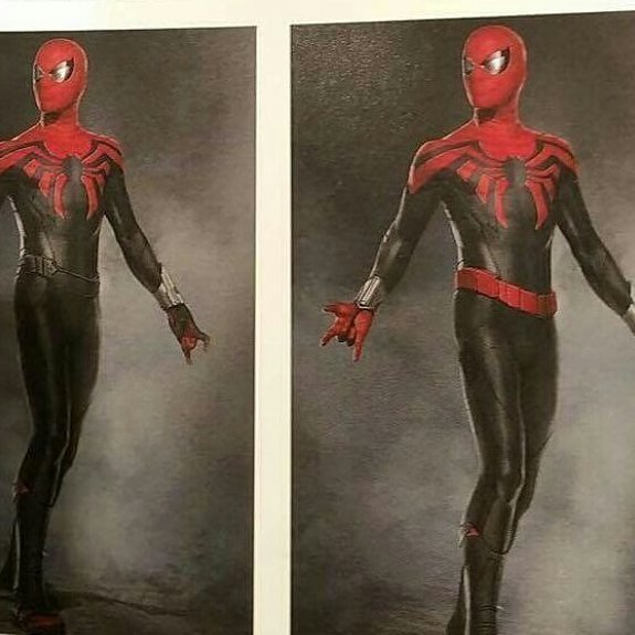 Какие были варианты костюма Человека-паука для «Возвращения домой»?