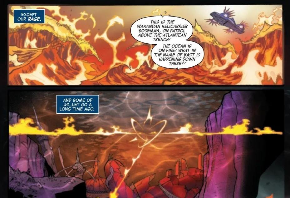 Вкомиксах Marvel есть имя Чедвика Боузмана. Вчесть актера назвали авианосец