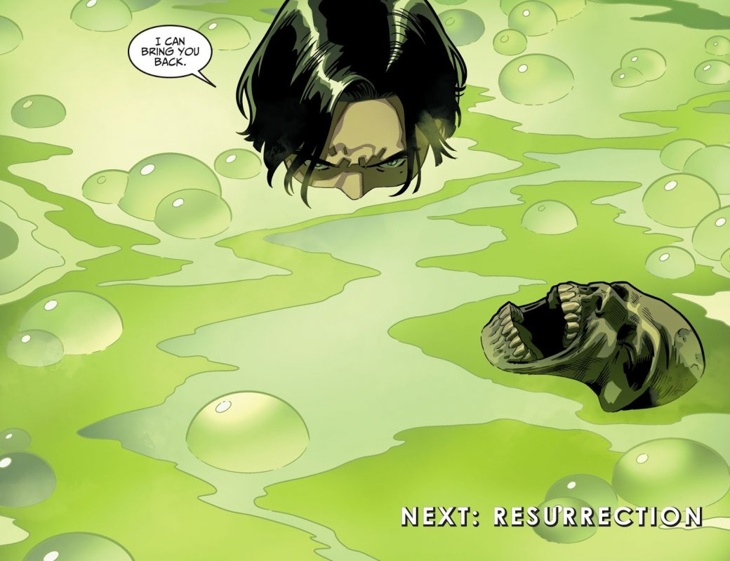 Сын Бэтмена вInjustice 2 решил воскресить Альфреда