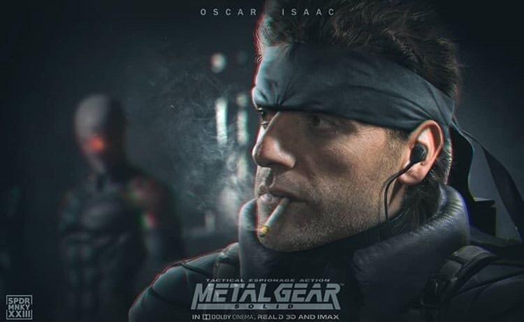 СМИ: Оскар Айзек сыграет Солида Снейка вэкранизации Metal Gear Solid