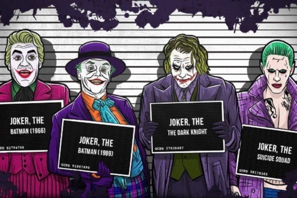 Джокер— самый главный ипопулярный враг Темного рыцаря. Вполнометражных картинах онпоявлялся пять раз (включая новый «Джокер»). Самое время поговорить оплюсах иминусах каждой инкарнации великого злодея.
