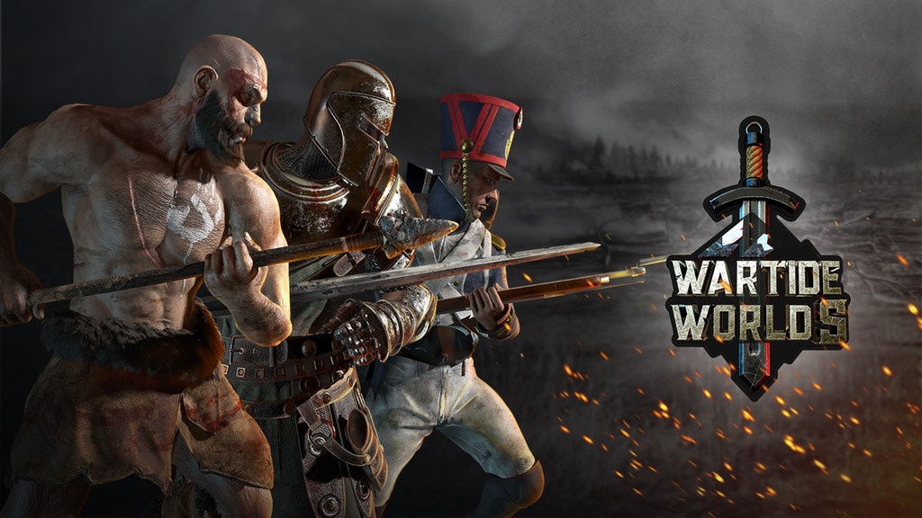 На Kickstarter вышла Wartide Worlds – смесь MMO, FPS и RTS