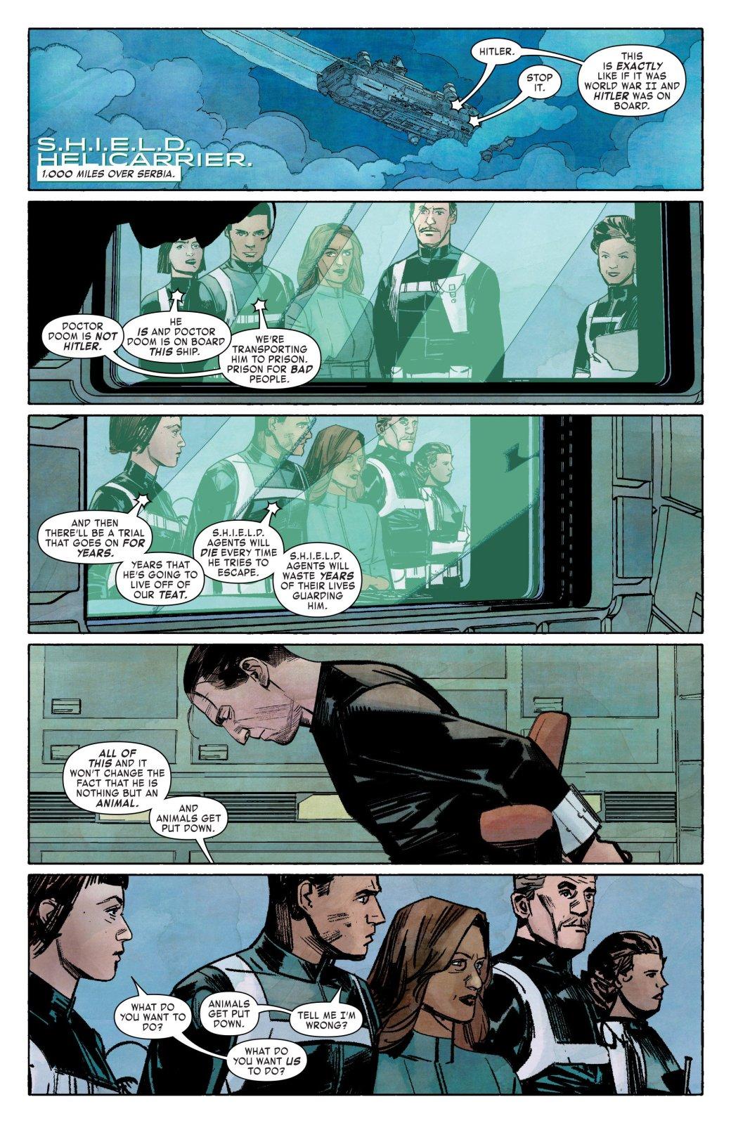 Нелегко быть супергероем: Доктора Дума изплена ЩИТ спасла его мать