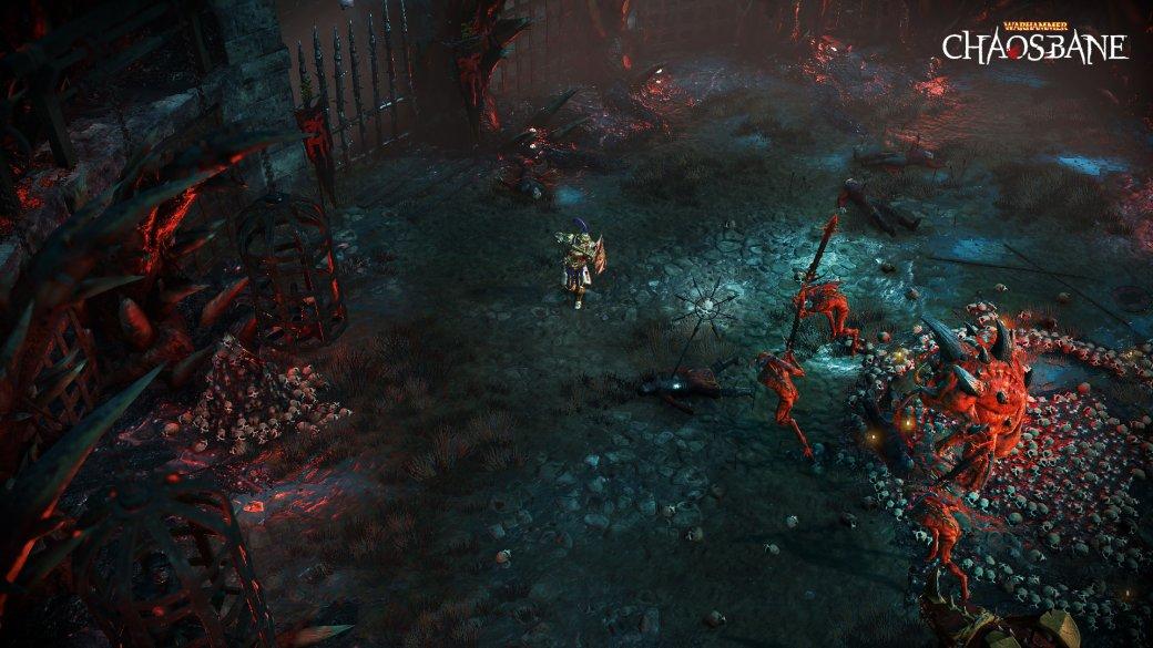 Анонсирована Diablo-подобная ролевая игра Warhammer: Chaosbane