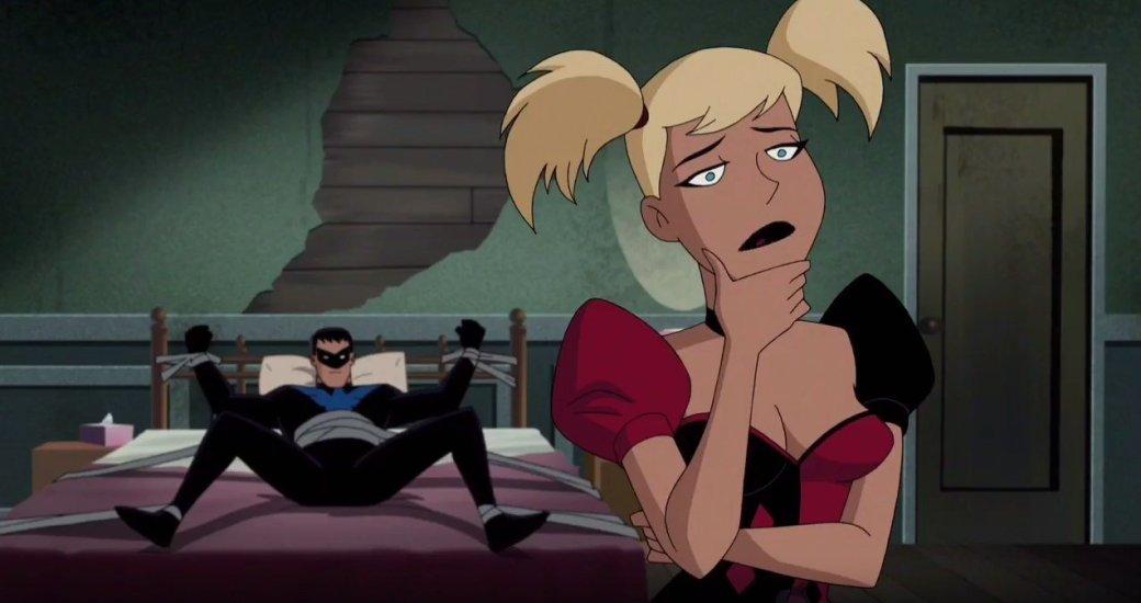 Фанаты вярости из-за секса иобъективации в«Бэтмене иХарли Квинн»