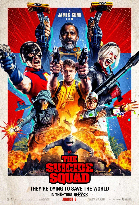 Вышел новый постер «Отряда самоубийц» Джеймса Ганна. Там герои показывают своё оружие