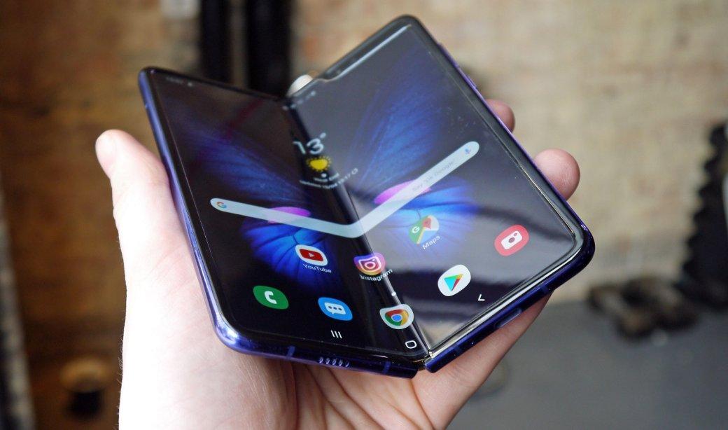 Складной флагман Samsung Galaxy Fold появится впродаже всентябре