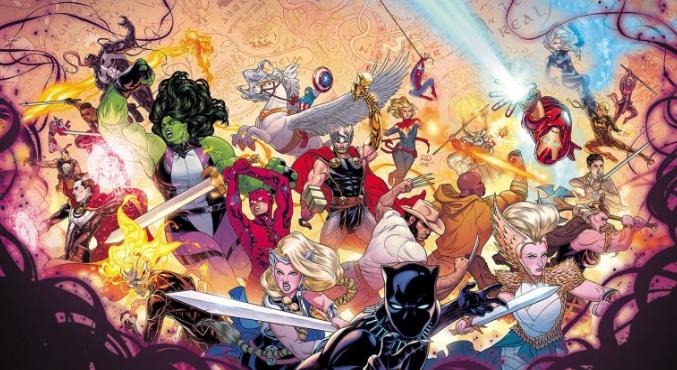 Трейлер Войны девяти миров отMarvel: боги исупергерои сражаются бок обок