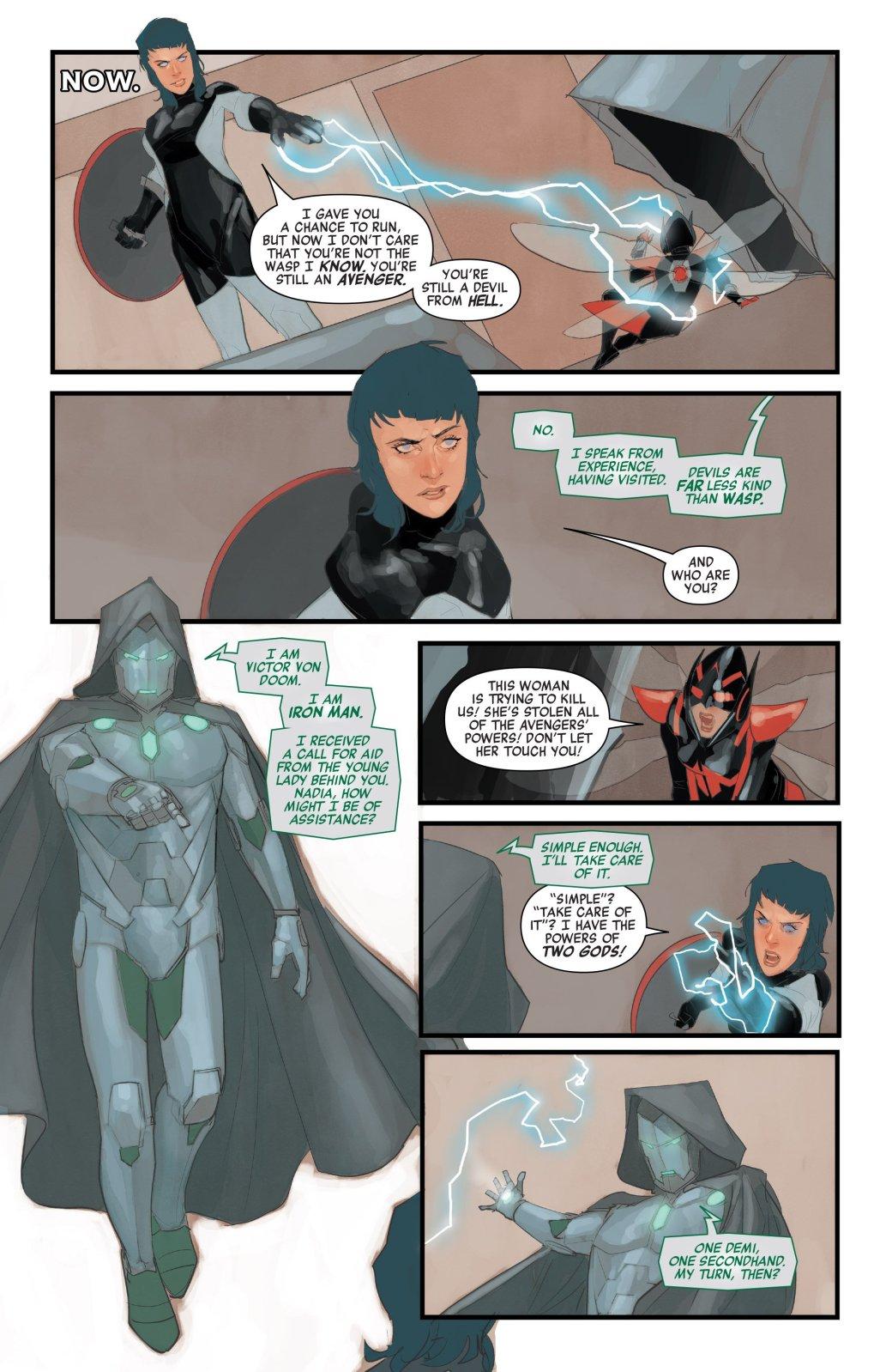Доктор Дум на скамье запасных: пока не Мститель, но уже очень близок