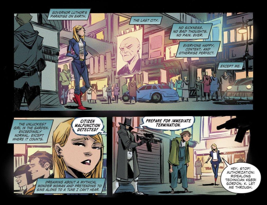 Новый постапокалиптический комикс DCначинается систории Супергерл
