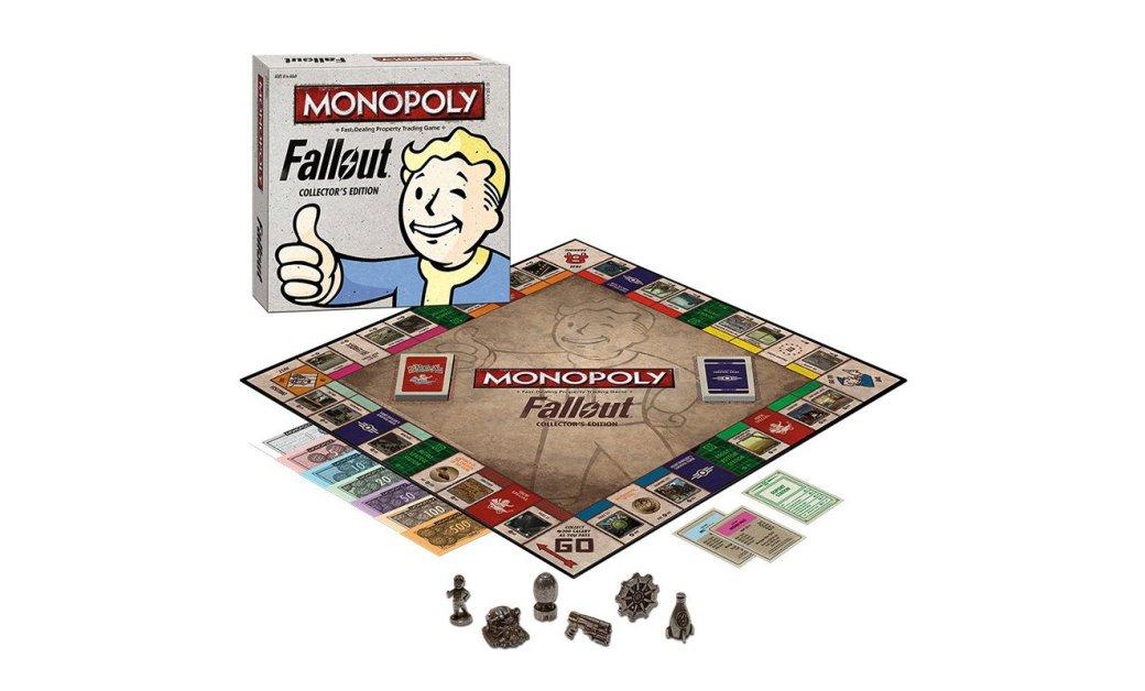 Monopoly: Fallout Collector's Edition стоит $40, выйдет в октябре