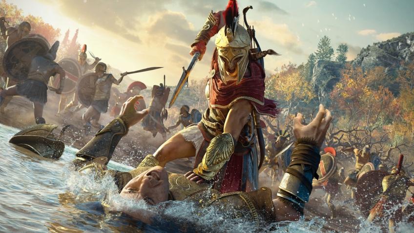 Самым грозным врагом в Assassin's Creed Odyssey стала банда жестоких куриц
