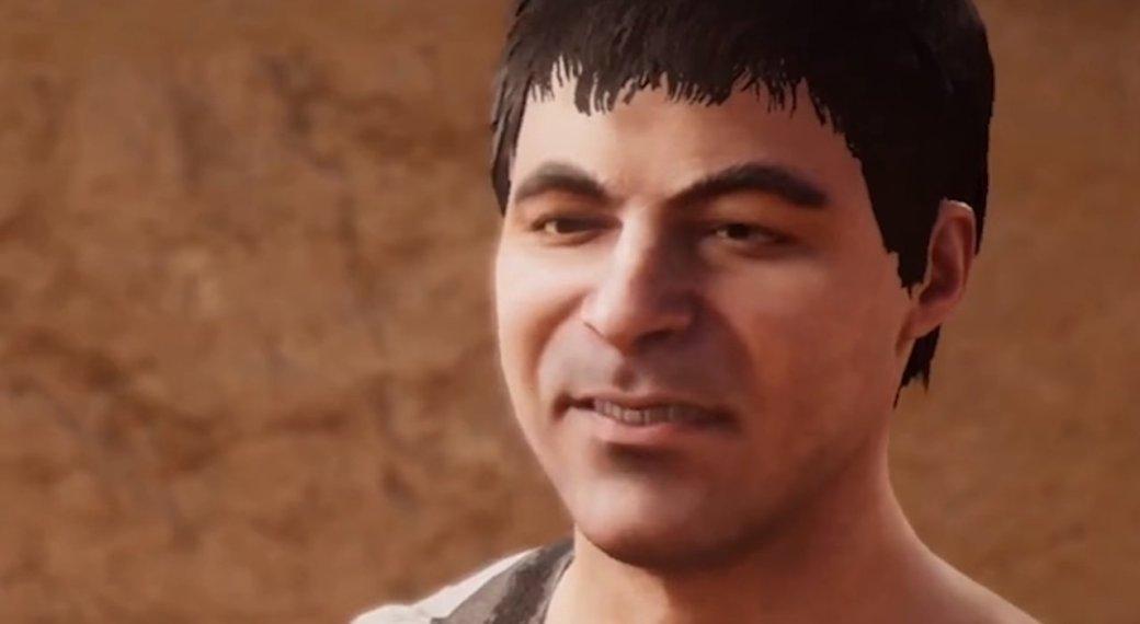 ВAssassin's Creed: Origins ужасные анимации лиц исинхронизация губ
