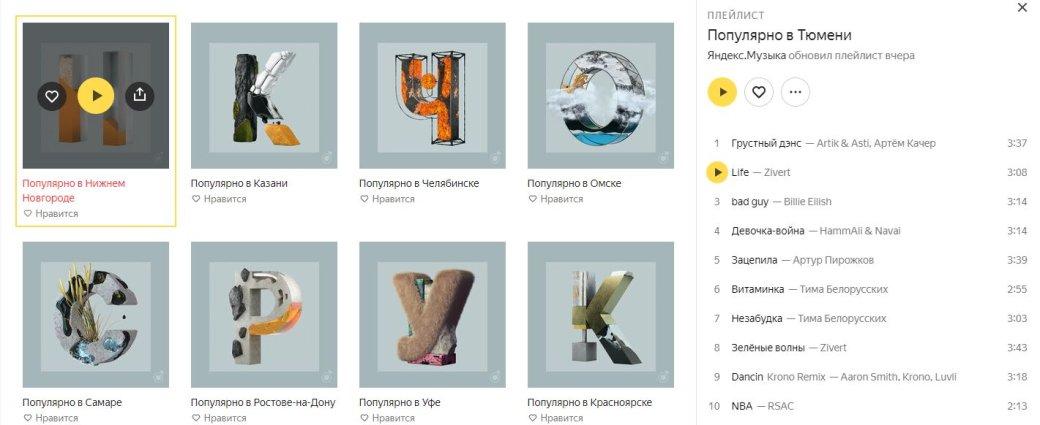 «Яндекс» рассказал о музыкальных вкусах россиян. В России любят не только Билли Айлиш