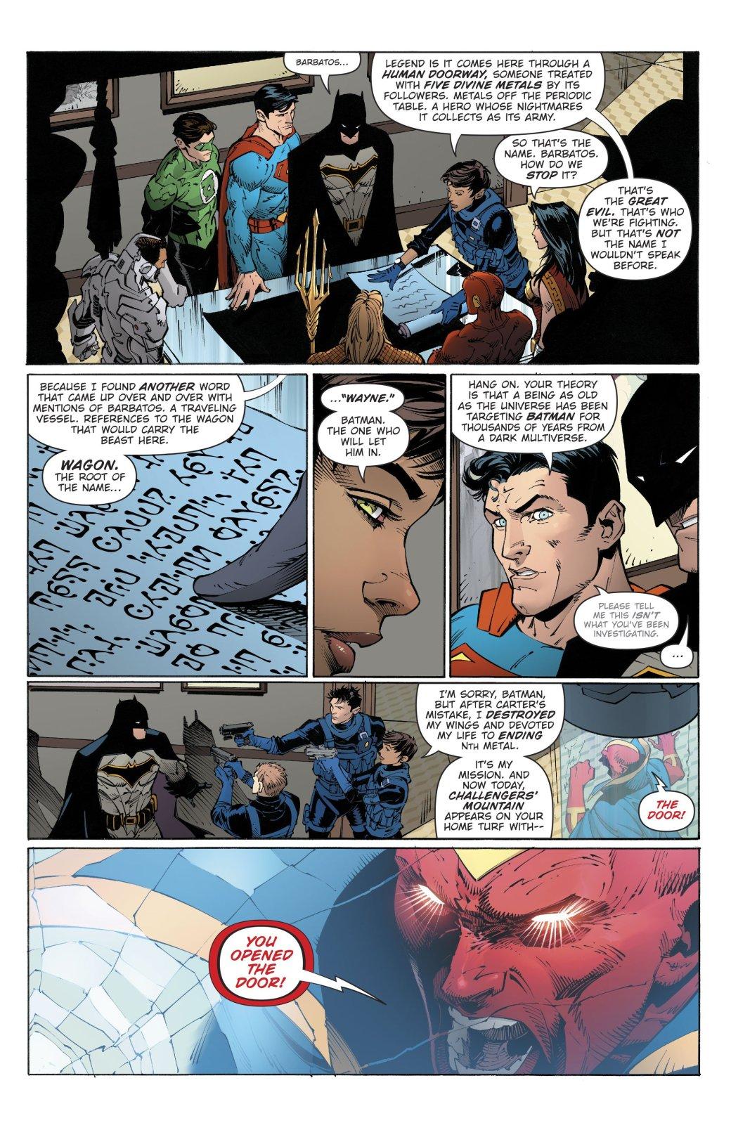 Разбираем Dark Nights: Metal— очем Бэтмен нерассказал Лиге?