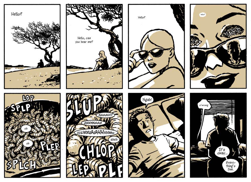 Cюрреалистический триллер вдухе Дэвида Линча. Мнение окомиксе Sin Titulo