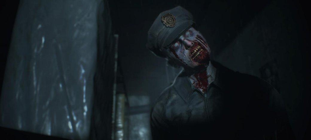 Гифка дня: низкие настройки графики вResident Evil 2 выглядят слишком знакомо