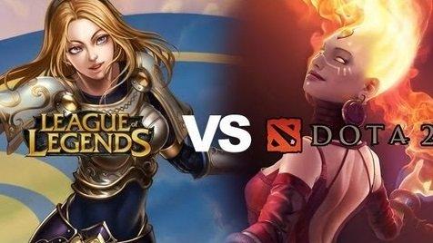 Исследование показало, что Dota 2 куда хардкорнее League of Legends